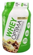 NutraKey - Whey Optima Premium Protein Complex Salted Caramel Peanut Butter Cup - 2.1 lbs.