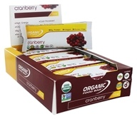 Organic Food Bar - Cranberry - 12 Bars
