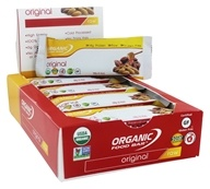 Organic Food Bar - Original Raw Protein Bar - 12 Bars