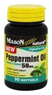 Mason Natural - Peppermint Oil 50 mg. - 90 Enteric Coated Softgels