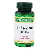 Nature's Bounty - L-Lysine 1000 mg. - 60 Tablet(s)