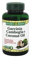 Nature's Bounty - Garcinia Cambogia and Coconut Oil - 60 Softgels