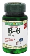 Nature's Bounty - Vitamin B6 100 mg. - 100 Tablet(s)