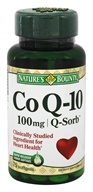 Nature's Bounty - CoQ-10 100 mg. - 75 Softgels