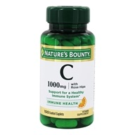 Nature's Bounty - Vitamin C 1,000 mg. Plus Rose Hips - 100 Caplets