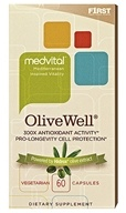 F1rst Nutrition - MedVital OliveWell Pro-Longevity Cell Protection - 60 Vegetarian Capsules