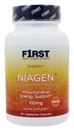 F1rst Nutrition - Niagen Nicotinamide Riboside Mitochondrial Energy Support 100 mg. - 60 Vegetarian Capsules