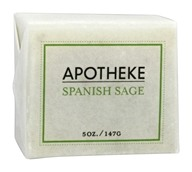 Apotheke - Bar Soap Spanish Sage - 5 oz.