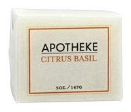 Apotheke - Bar Soap Citrus Basil - 5 oz.