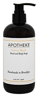 Apotheke - Hand and Body Liquid Soap Citrus Basil - 12 oz.