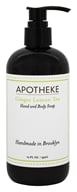 Apotheke - Hand and Body Liquid Soap Ginger Lemon Tea - 12 oz.