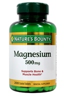 Nature's Bounty - Maximum Strength Magnesium 500 mg. - 200 Tablet(s)