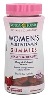 Nature's Bounty - Women's Multivitamin Gummies Raspberry Flavored - 80 Gummies
