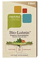 F1rst Nutrition - MedVital Bio-Lutein Superior Bioavailability - 30 Vegetarian Capsules