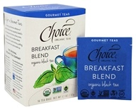 Choice Organic Teas - Gourmet Black Tea Breakfast Blend - 16 Tea Bags