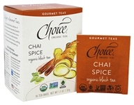 Choice Organic Teas - Gourmet Black Tea Chai Spice - 16 Tea Bags