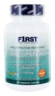 F1rst Nutrition - Curcumin 46X Bioavailable Curcumin - 60 Vegetarian Capsules