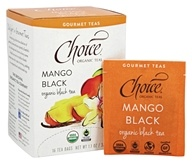 Choice Organic Teas - Gourmet Black Tea Mango Black - 16 Tea Bags