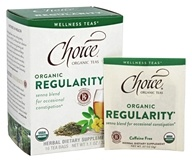 Choice Organic Teas - Wellness Tea Regularity - 16 Tea Bags