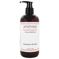 Apotheke - Hand and Body Liquid Soap Sea Salt Grapefruit - 12 oz.