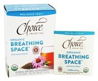 Choice Organic Teas - Wellness Tea Breathing Space - 16 Tea Bags