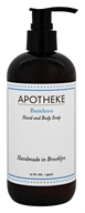 Apotheke - Hand and Body Liquid Soap Bamboo - 12 oz.