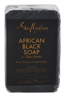 Shea Moisture - African Black Bar Soap with Shea Butter - 8 oz.