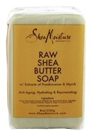 Shea Moisture - Raw Shea Butter Bar Soap with Extracts of Frankincense & Myrrh - 8 oz.