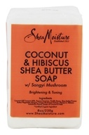 Shea Moisture - Coconut & Hibiscus Shea Butter Bar Soap with Songyi Mushroom - 8 oz.