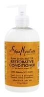 Shea Moisture - Raw Shea Butter Restorative Conditioner with Sea Kelp & Argan Oil - 13 oz.