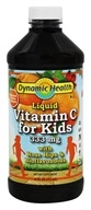 Dynamic Health - Liquid Vitamin C for Kids Citrus 333 mg. - 16 oz.