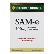 Nature's Bounty - Super Strength SAM-e 400 mg. - 30 Tablets
