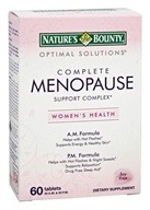 Nature's Bounty - Optimal Solutions Complete Menopause Support Complex - 60 Tablets