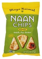 Maya Kaimal - Naan Chips Rosemary - 6 oz.