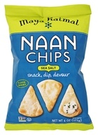 Maya Kaimal - Naan Chips Sea Salt - 6 oz.