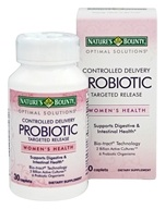 Nature's Bounty - Optimal Solutions Controlled Delivery Probiotic - 30 Caplets