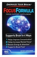 Windmill Health Products - FocusFormula Focus Support Supplement - 60 Tablets