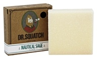 Dr. Squatch - Natural Bar Soap Nautical Sage - 5 oz.