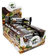 Oskri - Gluten-Free Almond Bar Dark Chocolate - 20 Bars
