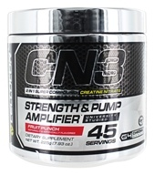 Cellucor - CN3 Strength & Pump Amplifier Fruit Punch 45 Servings - 225 Grams