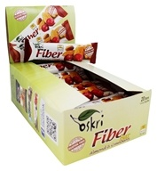 Oskri - Gluten Free Fiber Bar Almond & Cranberry - 20 Bars