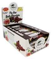 Oskri - Gluten-Free Fig Bar Dark Chocolate - 20 Bars