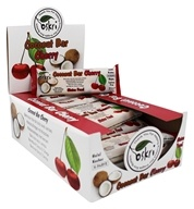 Oskri - Gluten Free Coconut Bar Cherry - 20 Bars