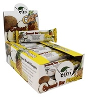 Oskri - Gluten Free Coconut Bar Pineapple - 20 Bars