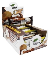 Oskri - Gluten Free Coconut Bar Dark Chocolate - 20 Bars