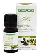 Nature's Bounty - Earthly Elements Eucalyptus Essential Oil - 0.34 oz.