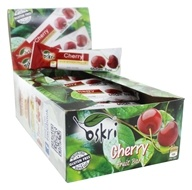 Oskri - Gluten-Free Fruit Bar Cherry - 20 Bars
