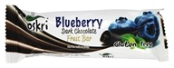 Oskri - Gluten Free Dark Chocolate Fruit Bar Blueberry - 1.58 oz.