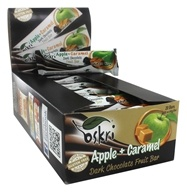 Oskri - Gluten-Free Dark Chocolate Fruit Bar Apple + Caramel - 20 Bars