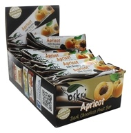 Oskri - Gluten-Free Dark Chocolate Fruit Bar Apricot - 20 Bars